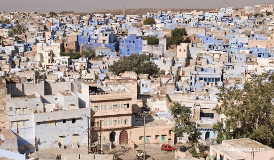 Jodhpur, The Blue City India