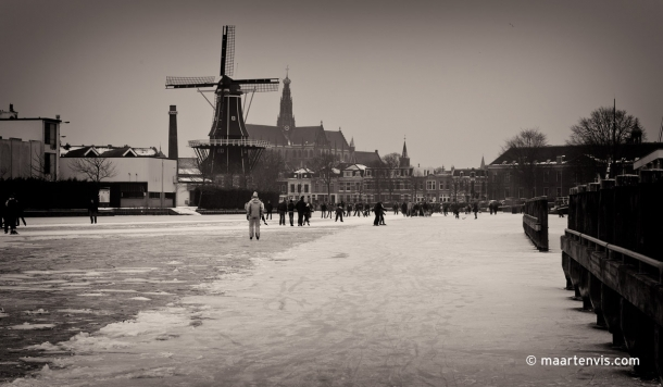 Ice Skating In Haarlem
