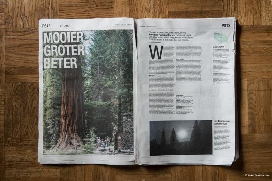 20130725 0916 540x360 - Yosemite NP Publication in Het Parool