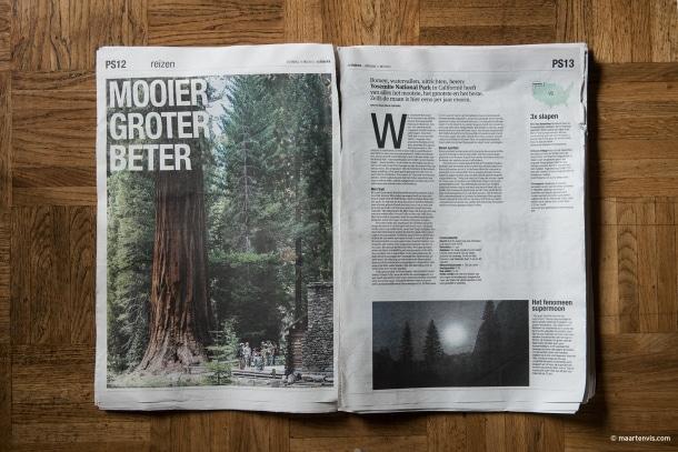 20130725 0916 610x407 - Yosemite NP Publication in Het Parool