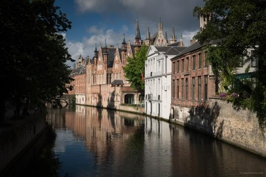 Bruges By Boat Belgium