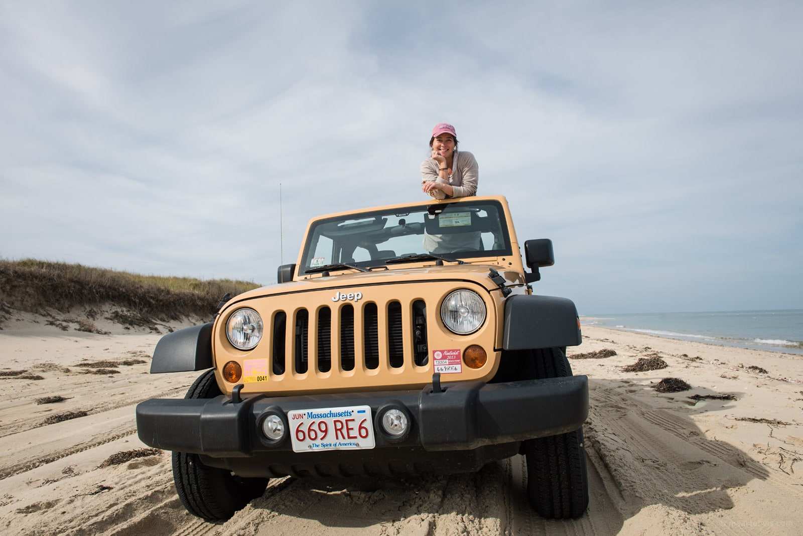 Nantucket by 4WD Jeep - Fish & Feathers Travel Blog