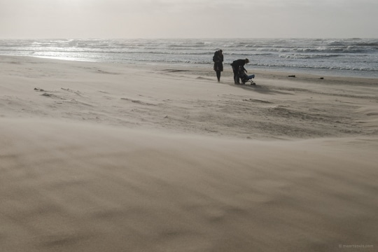 20140214 7611 540x360 - A Stormy Day on the Beach