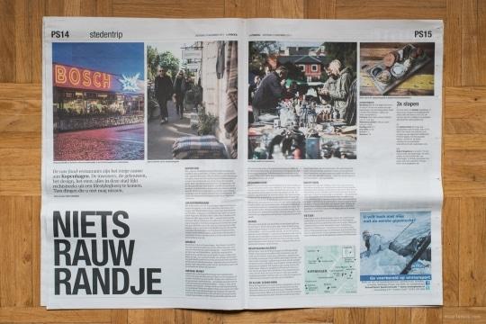 Copenhagen Travel Story in Het Parool Publications