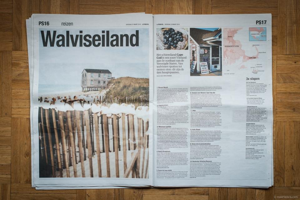 20140627 14161 960x640 - Cape Cod / Nantucket Publication in Het Parool