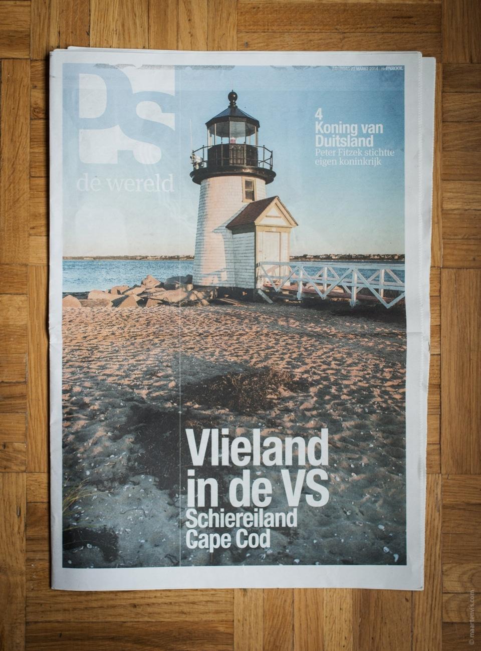 20140627 14211 960x1299 - Cape Cod / Nantucket Publication in Het Parool