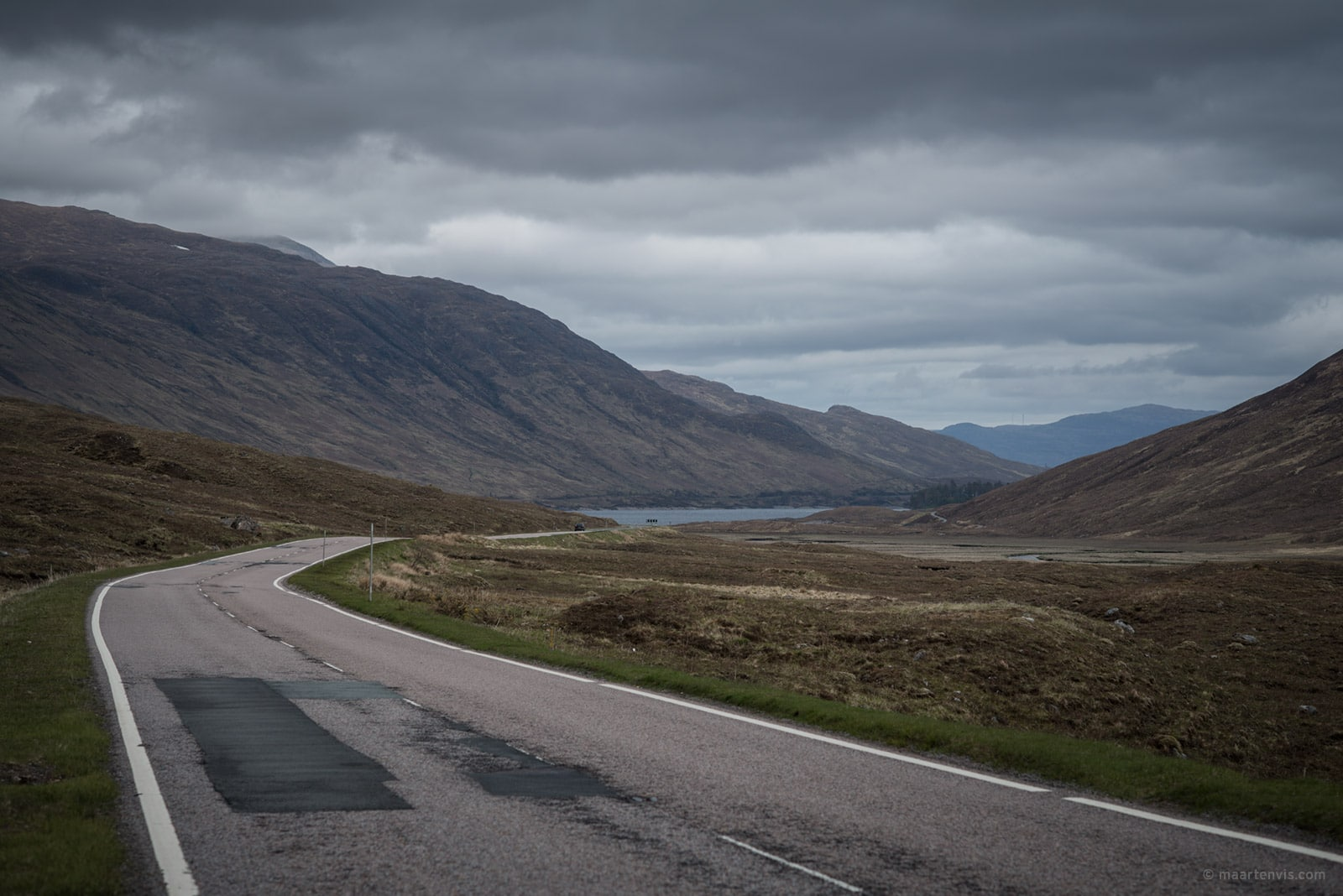 20150519 8125 - Driving to Eilean Donan Castle
