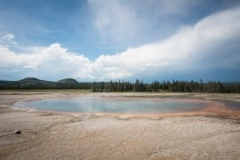 Yellowstone NP: Grand Prismatic Spring United States Wyoming