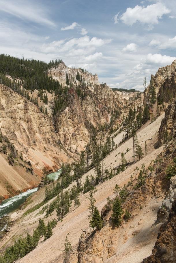 20150616 9806 610x914 - Yellowstone NP: Hiking at Yellowstone Grand Canyon